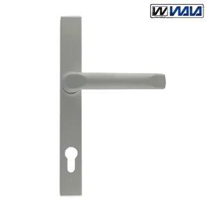 Klamka WALA H1 92 bęb srebrna