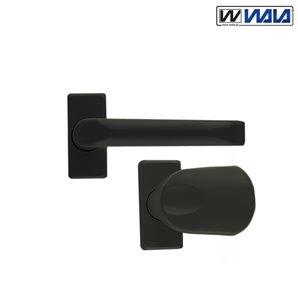 Klamka-Uchwyt WALA H1 KRÓTKA czarna
