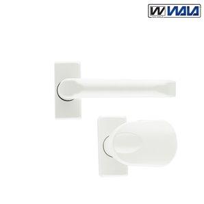 Klamka-Uchwyt WALA H1 KRÓTKA biała