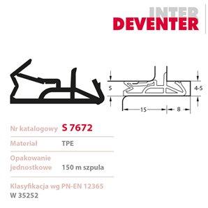 Uszczelka DEVENTER S 7672