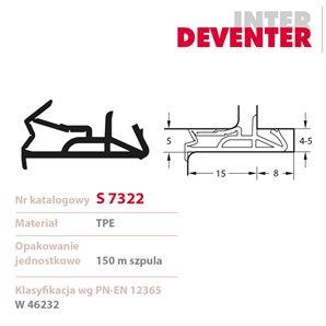 Uszczelka DEVENTER S 7322