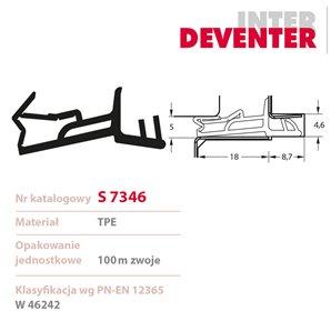 Uszczelka DEVENTER S 7346