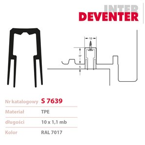 Uszczelka DEVENTER S 7639