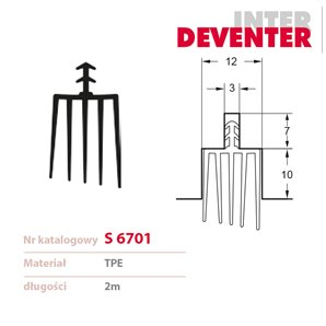 Uszczelka DEVENTER S 6701