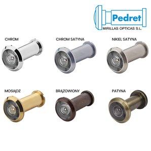 Wizjer PEDRET drzwiowy 14mm (15-25mm)
