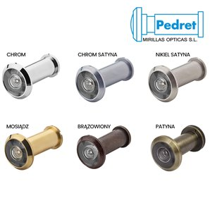 Wizjer PEDRET drzwiowy 16mm (40-65mm)