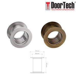 Tuleja drzwiowa okrągła stalowa