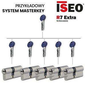 Przykładowy system MASTERKEY ISEO R7