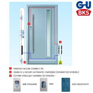 Zestaw zamka elektromotorycznego G-U KD SC50
