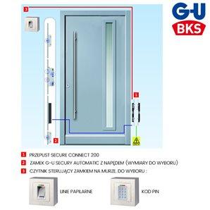 Zestaw zamka elektromotorycznego G-U KD SC200