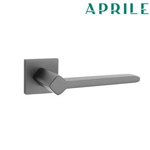 Klamka APRILE NINFEA Q SLIM 7mm 153 czarny