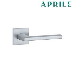 Klamka APRILE PYROLA Q SLIM 7mm 96 chrom szczotkowany