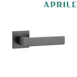 Klamka APRILE ERICA Q SLIM 7mm153 czarny