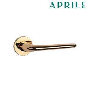 Klamka APRILE AZALIA R SLIM 7mm złota