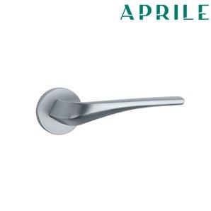 Klamka APRILE DALIA R SLIM 7mm 96 chrom szczotkowany