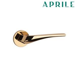 Klamka APRILE DALIA R SLIM 7 mm złota
