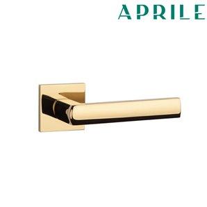 Klamka APRILE HOSTA Q SLIM 7mm złota