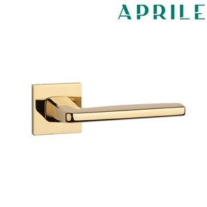Klamka APRILE ERBA Q SLIM 7mm złota