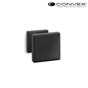 Gałka CONVEX 785 czarna