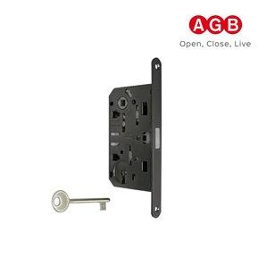 Zamek magnetyczny AGB POLARIS 2XT klucz czarny+zaczep