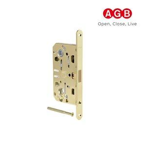 Zamek magnetyczny AGB POLARIS 2XT BĘB złoty+zaczep