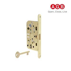 Zamek magnetyczny AGB POLARIS 2XT klucz złoty+zaczep