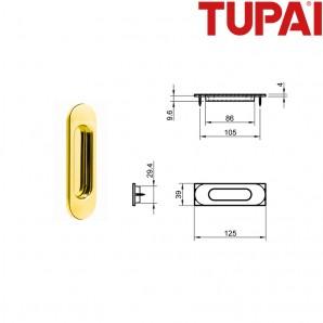 Pochwyt TUPAI 4052 01 złoty