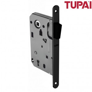 Zamek magnetyczny TUPAI 286 klucz czarny z zaczepem regulowanym
