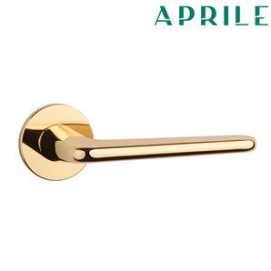 Klamka APRILE LIRA R SLIM 5mm 01 złota