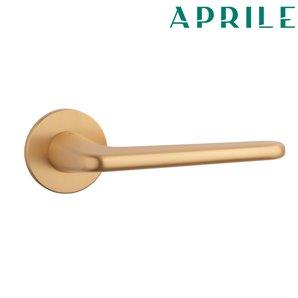 Klamka APRILE LIRA R SLIM 5mm 01 złoty satyna