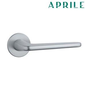 Klamka APRILE LIRA R SLIM 5mm chrom szczotkowany