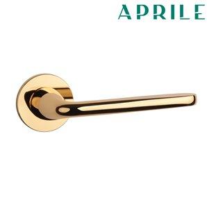 Klamka APRILE HIACYNTA R SLIM 5mm 01 złota