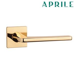 Klamka APRILE SETIA Q SLIM 5mm złota