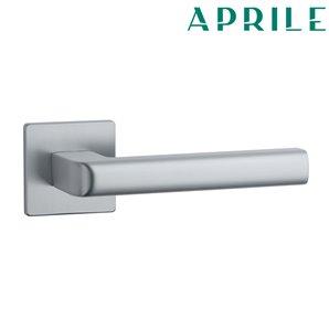 Klamka APRILE SALICE Q SLIM 5mm 96 chrom szczotkowany