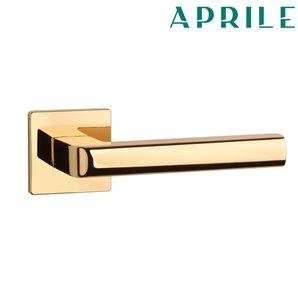 Klamka APRILE SALICE Q SLIM 5mm złota
