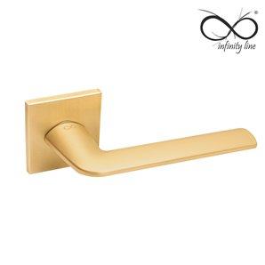 Klamka INFINITY-LINE STINGER FIT 6mm złota rozeta kwadrat