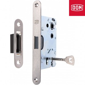 Zamek magnetyczny KOLIBER-M klucz INOX z zaczepem