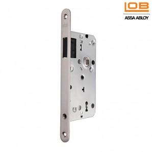 Zamek magnetyczny LOB Z75 M klucz INOX z zaczepem regulowanym