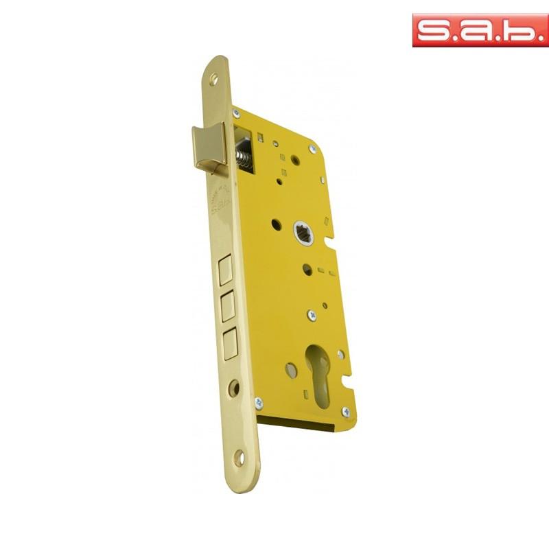 Zamek SAB 2200 72/50 bęb mosiądz zaokrąglony