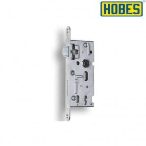 Zamek HOBES 72/40 klucz cynk biały