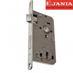 Zamek JANIA 72/50 klucz stolarka cynk biały lewy/prawy