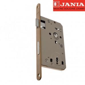 Zamek JANIA 72/55 BOX klucz stolarka lakier piaskowy