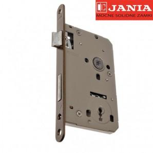 Zamek JANIA 72/60 BOX klucz stolarka lakier piaskowy