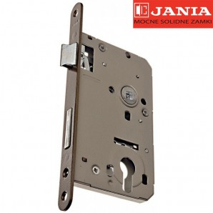 Zamek JANIA 72/60 BOX bęb stolarka lakier piaskowy