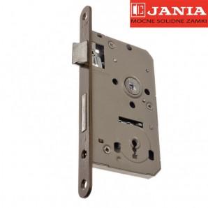 Zamek JANIA 60/50 BOX klucz stolarka lakier piaskowy