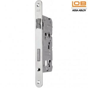 Zamek LOB Z7B 72/50 klucz cynk biały