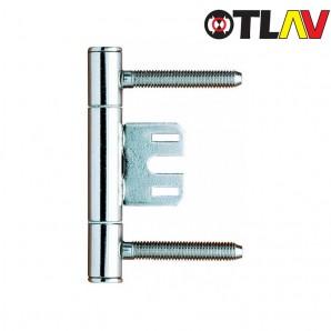 Zawias OTLAV 335 150 z płytką środkową cynk biały