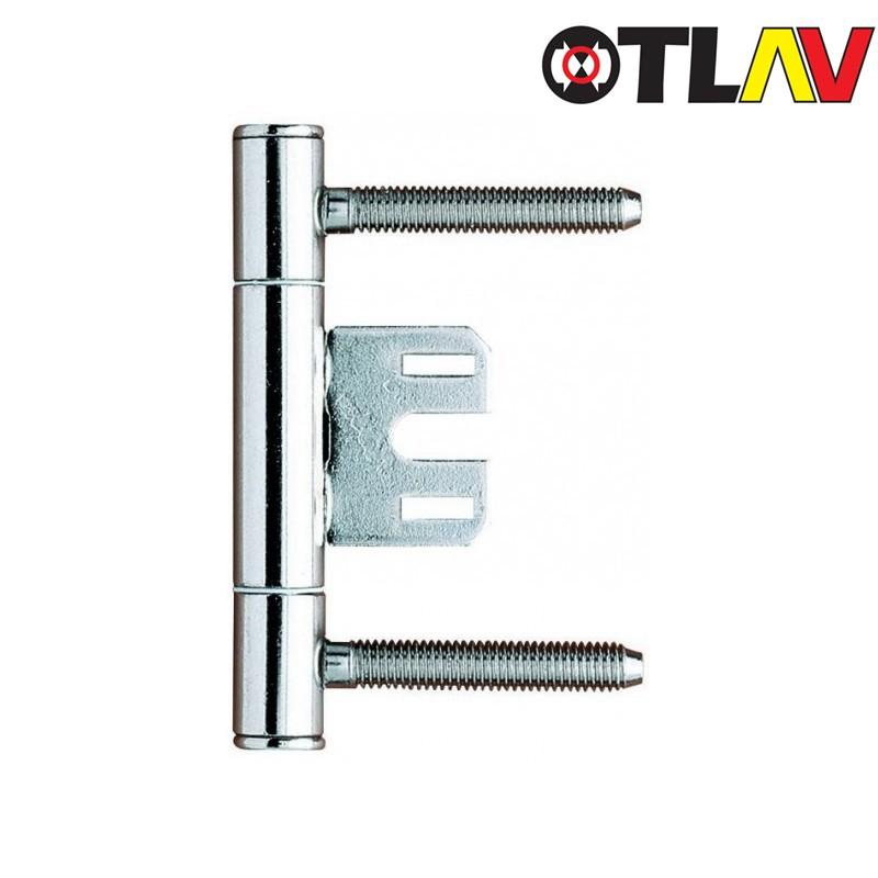 Zawias OTLAV 335 150 z płytką środkową stal nierdzewna INOX