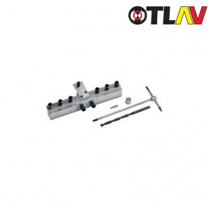 Przyrząd OTLAV montażowy do zawiasu URSUS 18 wraz z akcesoriami