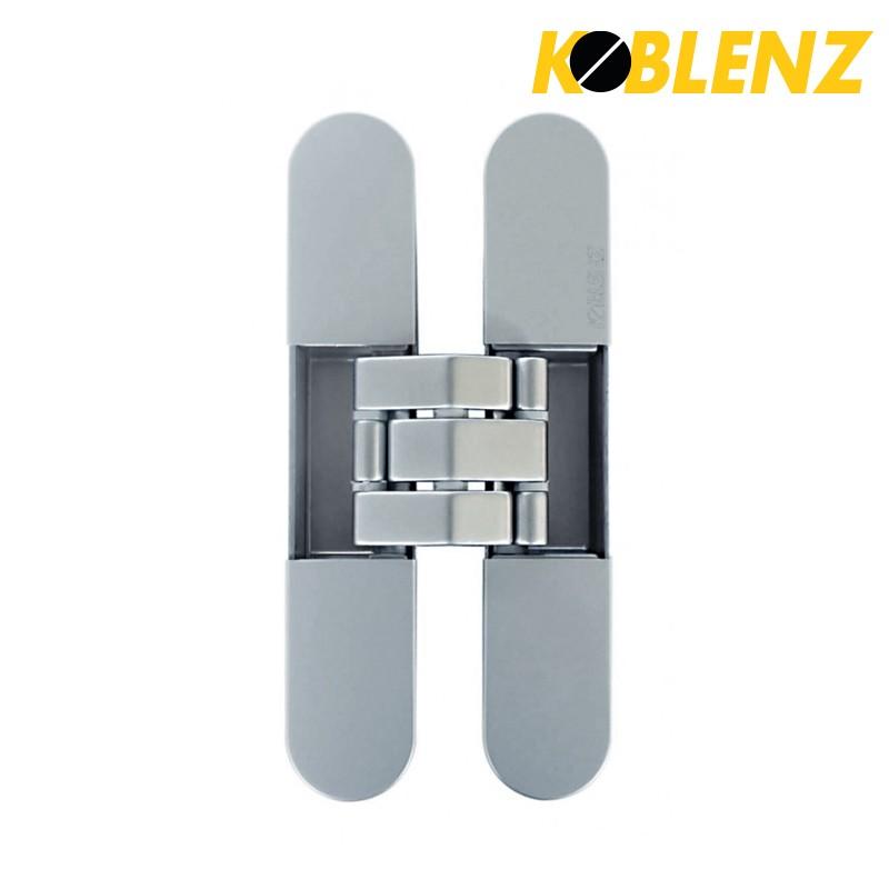 Zawias KU-BI7 7080 chrom satyna z nasadkami